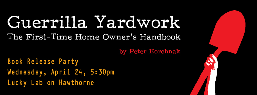 Guerrilla Yardwork Release Party Facebook Header